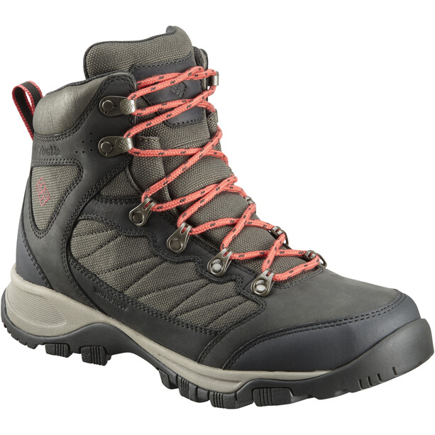 Columbia Cascade Pass WP Schuhe Damen alpine tundra/sunset red