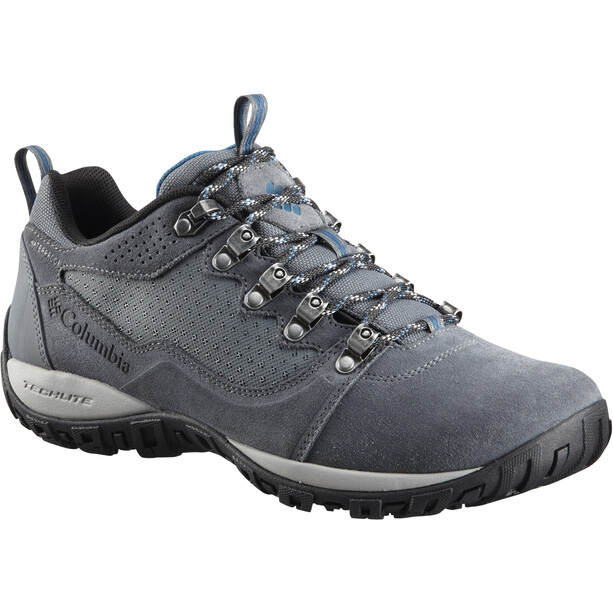 Columbia Peakfreak Venture Low Suede WP Schuhe Herren graphite/phoenix blue