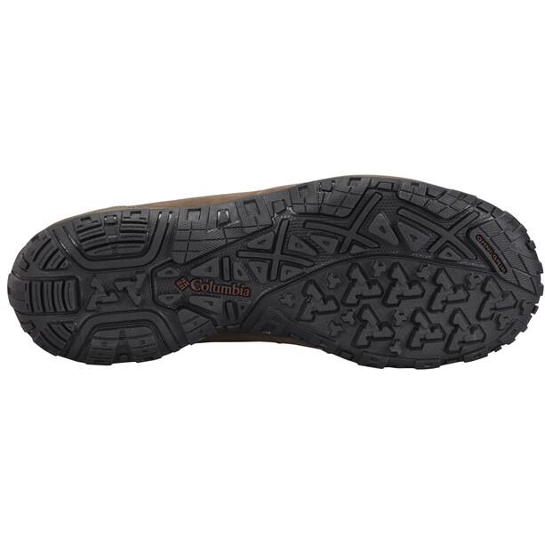 Columbia Ruckel Ridge Plus WP Schuhe Herren cordovan/madder brown