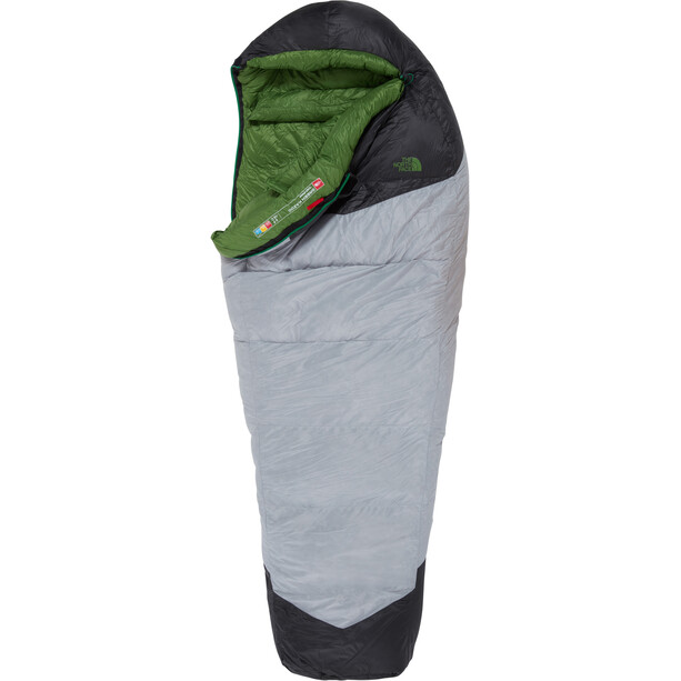 The North Face Green Kazoo Schlafsack regular high rise grey/adder green