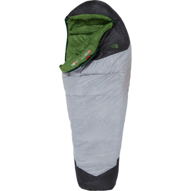 The North Face Green Kazoo Schlafsack Long high rise grey/adder green