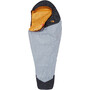 The North Face Gold Kazoo Schlafsack regular high rise grey/radiant yellow