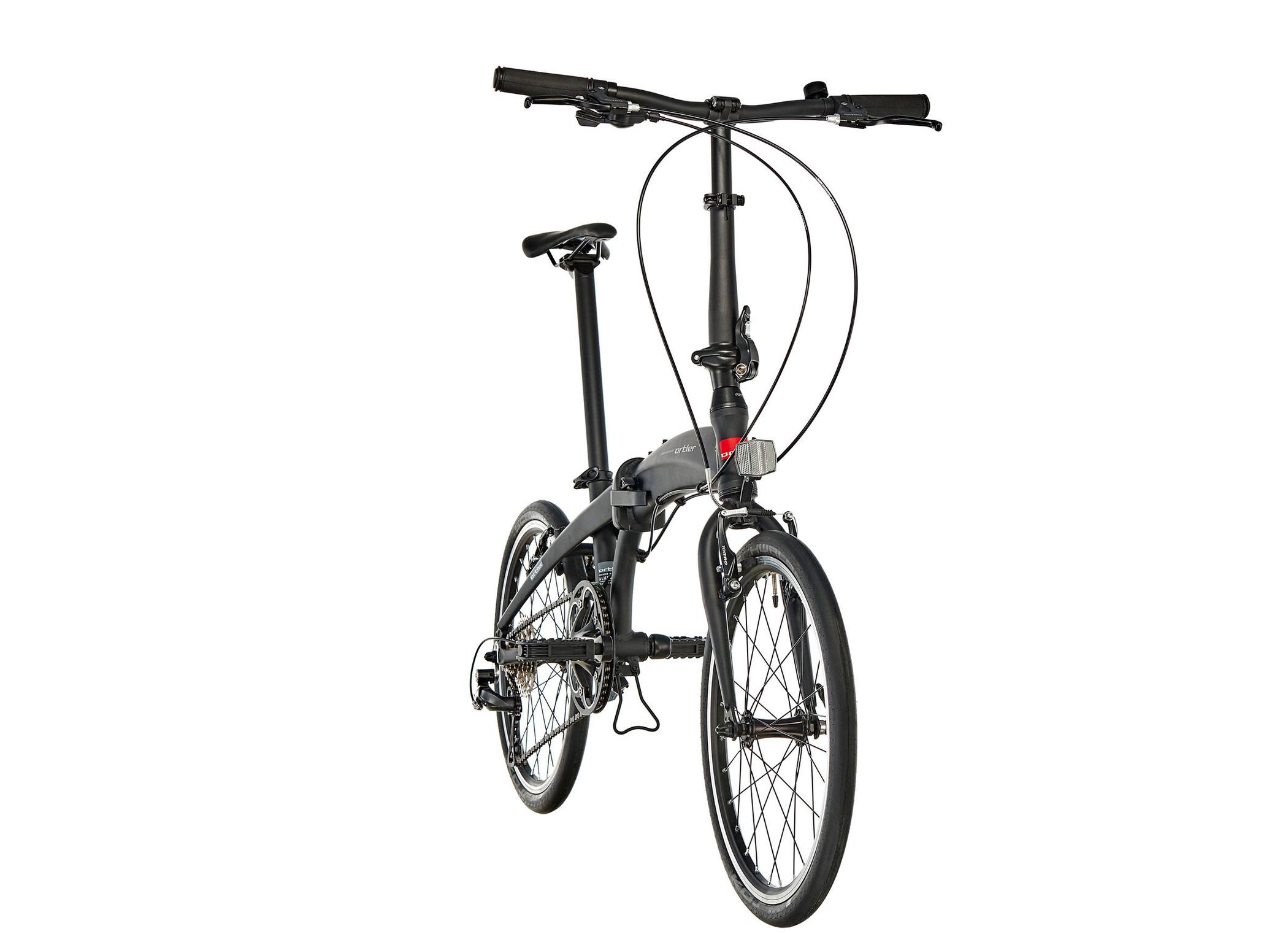 Fahrrder Radsport byom.it Ortler London Race 20 Black 2019 Faltrad