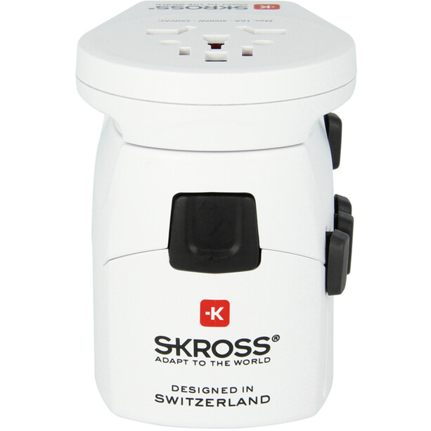 SKROSS World Pro + USB Travel Adapter