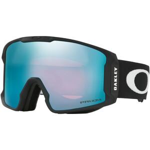 Oakley Line Miner XM Lunettes de ski Femme, noir/bleu noir/bleu