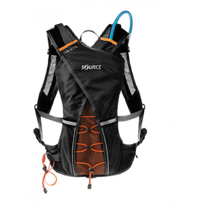 SOURCE Verve Trinkrucksack 2l black black