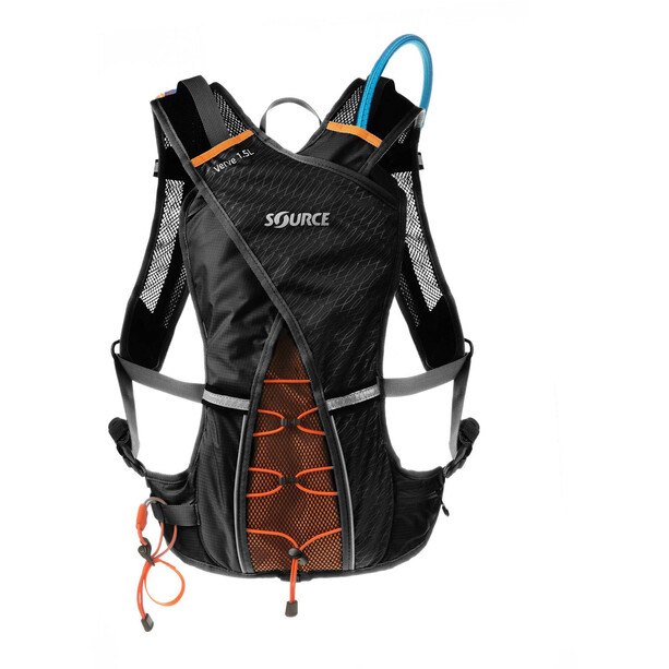 SOURCE Verve Trinkrucksack 2l black