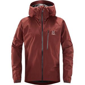 Haglöfs L.I.M Jacket Herr maroon red maroon red