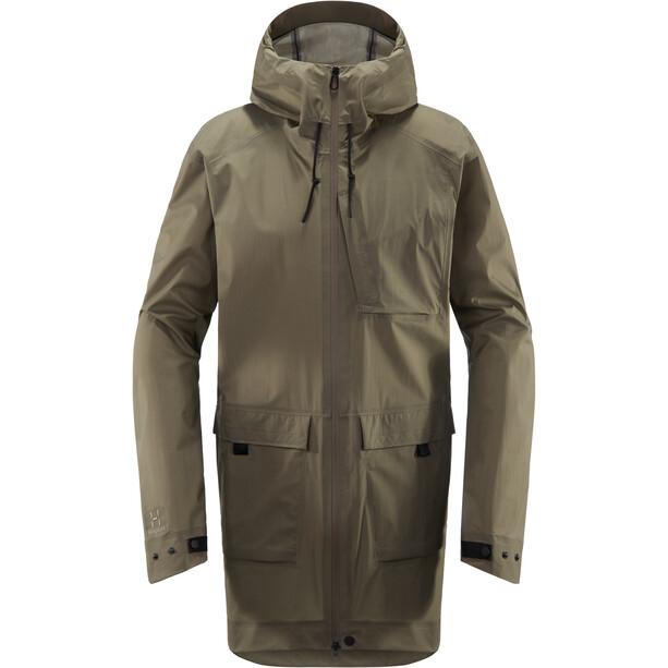 Haglöfs Nusnäs 3L Jacket Herr dune
