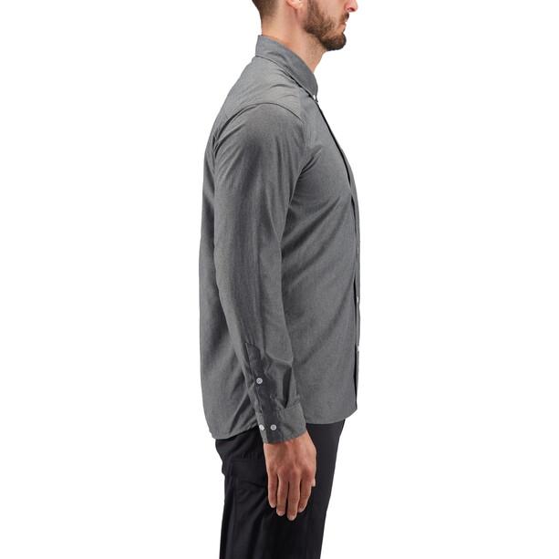 Haglöfs Vejan LS Shirt Herr magnetite