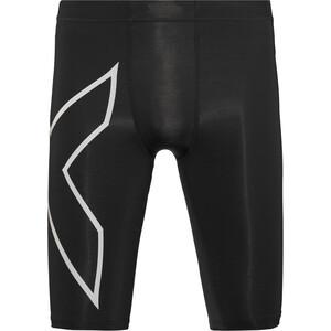 2XU Run Compression Shorts mit Rückenfach Herren schwarz schwarz