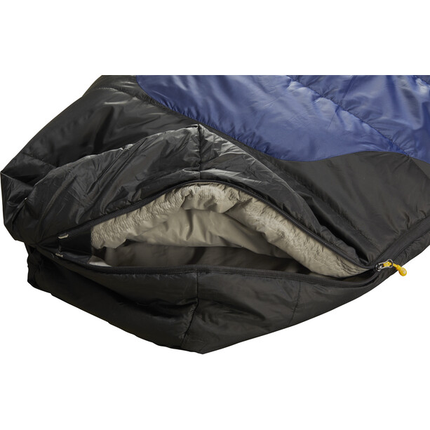 Nordisk Puk +10° Curve Schlafsack L true navy/steeple gray/black