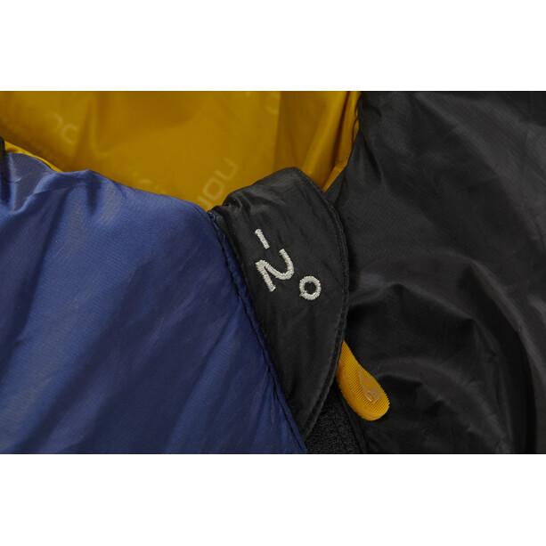 Nordisk Puk -2° Blanket Schlafsack XL true navy/mustard yellow/black