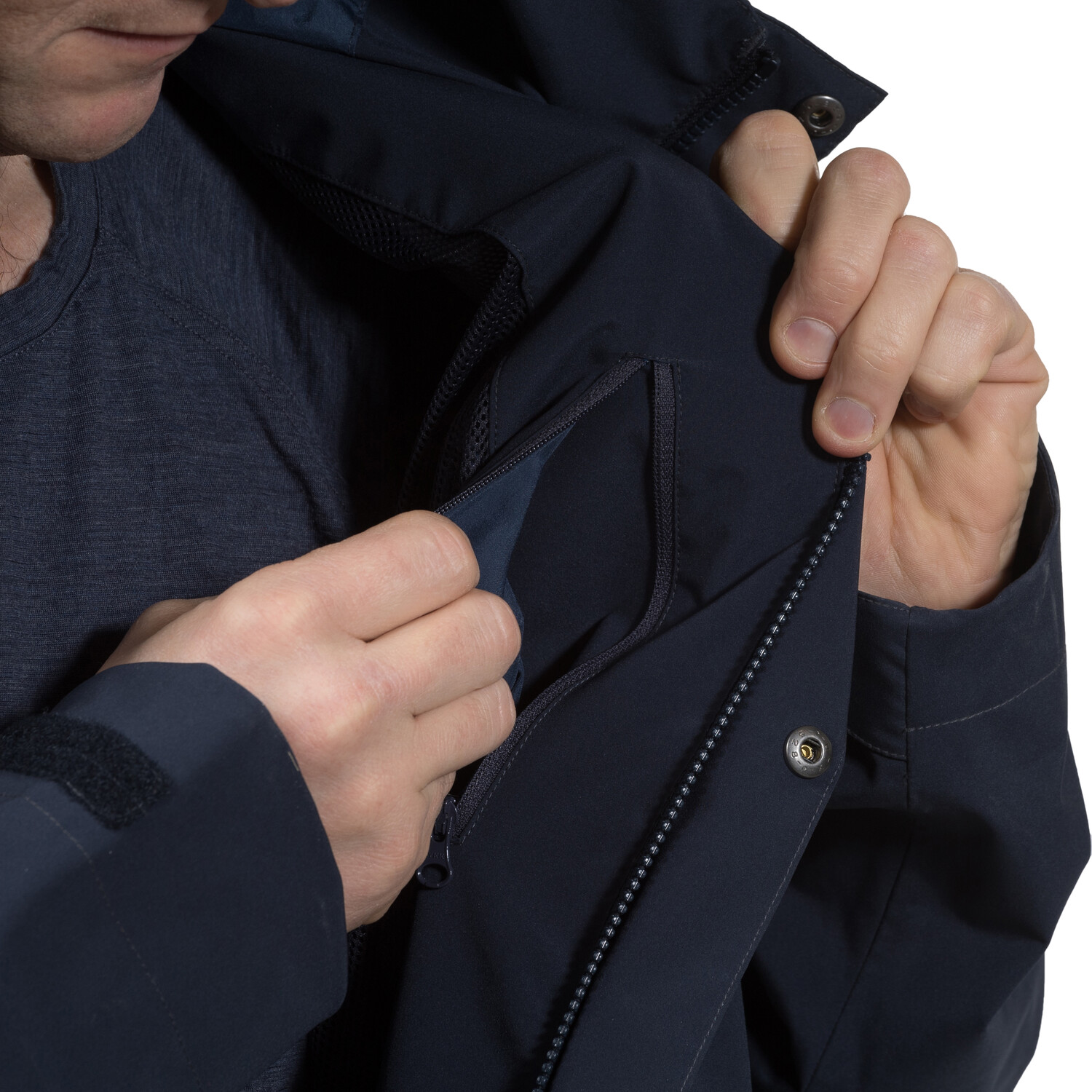 Bergans Ramberg Jacke Herren dark navy/nightblue