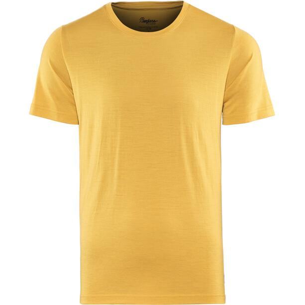 Bergans Oslo Wool T-Shirt Herren mustard yellow