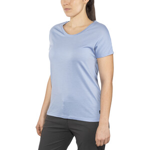 Bergans Oslo Wool T-Shirt Damen air blue air blue