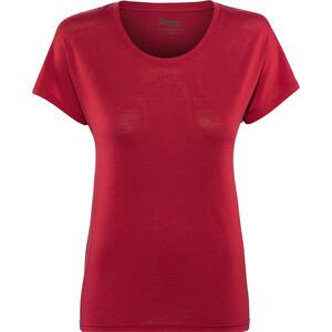 Bergans Oslo Wool T-Shirt Damen rot rot