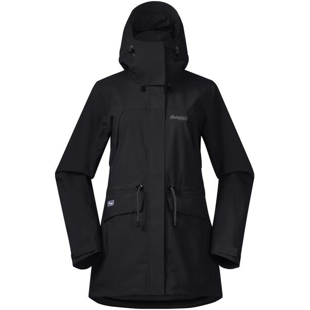 Bergans Breheimen 2L Jacket Dam black/solid charcoal