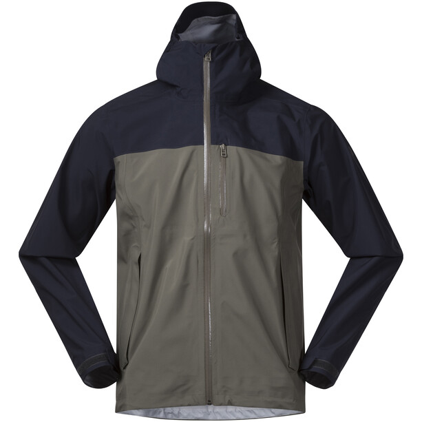 Bergans Oslo 3L LT Jacket Herr green mud/dark navy