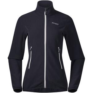 Bergans Lovund Fleece Jacket Dam dark navy/aluminium dark navy/aluminium