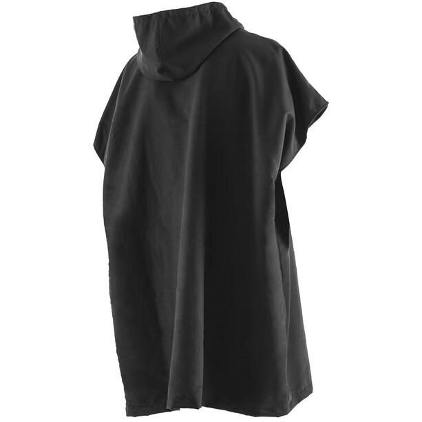 ORCA Poncho Handtuch black