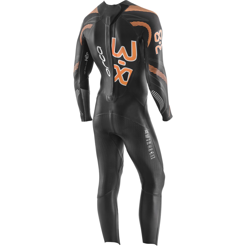 ORCA 3.8 Enduro Langarm Wetsuit Herren black