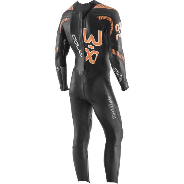 ORCA 3.8 Enduro Combinaison à manches longues Homme, noir