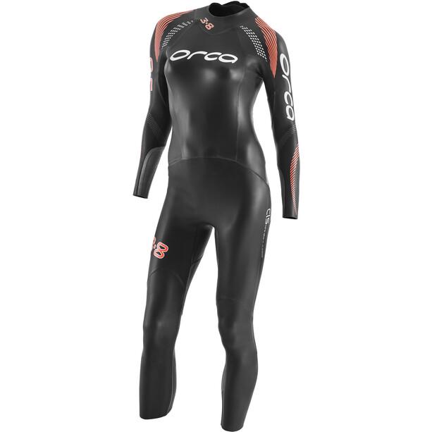 ORCA 3.8 Enduro Langarm Wetsuit Damen schwarz