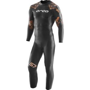 ORCA S7 Langarm Wetsuit Herren black black