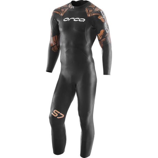 ORCA S7 Langarm Wetsuit Herren black