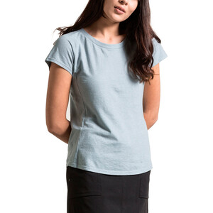 Alchemy Equipment Organic Fitted T-Shirt Damen powder blue powder blue