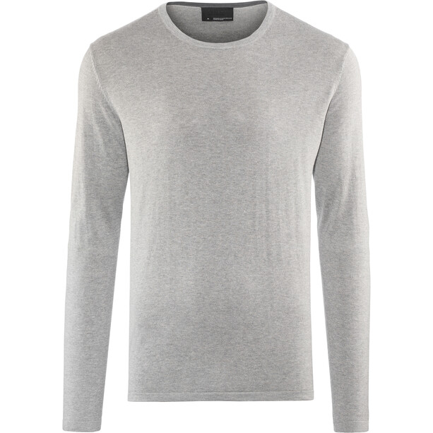 Alchemy Equipment 14 Gauge Cotton Silk LS Crew Shirt Herr light grey