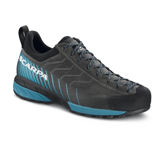 Scarpa Mescalito GTX Schuhe Herren shark/lakeblue