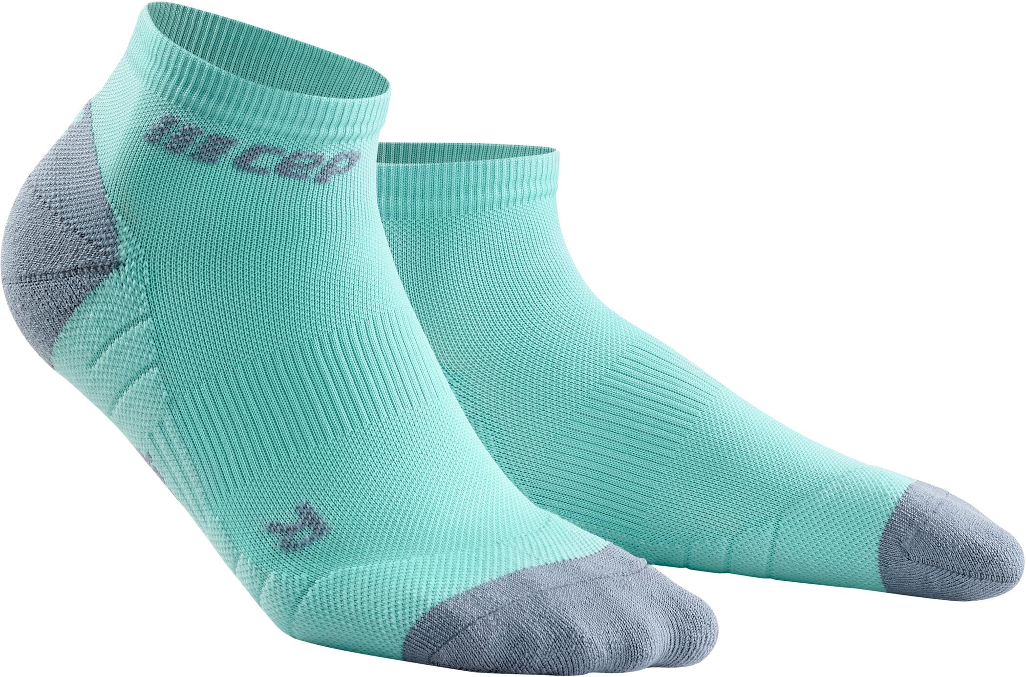 Run Socks 3.0 Damer, turkis/grå | cykelstrømpe