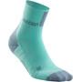 cep Short Socks 3.0 Femme, turquoise/gris