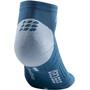 cep 3.0 Low Cut Socks Men, bleu/gris