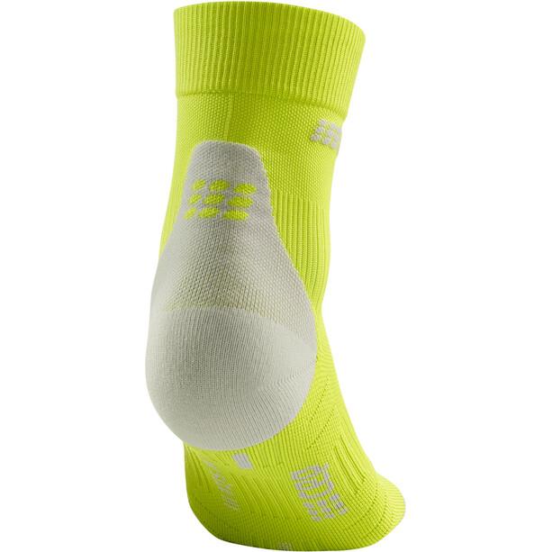 cep Short Socks 3.0 Herren lime/light grey