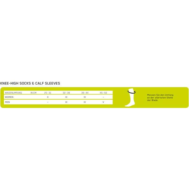 cep Calf Sleeves 3.0 Herren lime/light grey