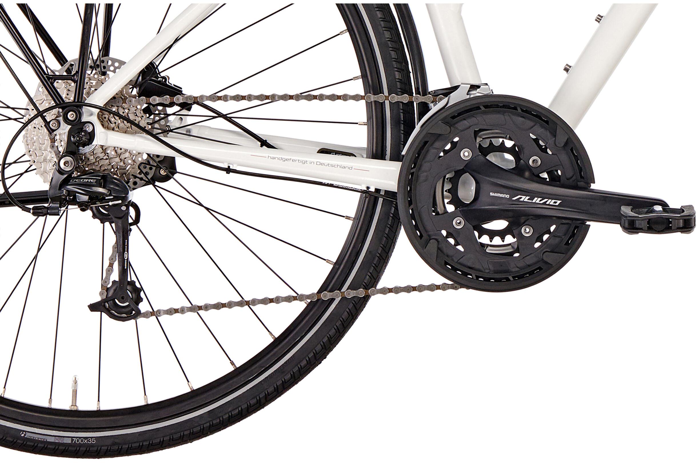 diamant elan deluxe bicicletas trekking gor blanco. Black Bedroom Furniture Sets. Home Design Ideas