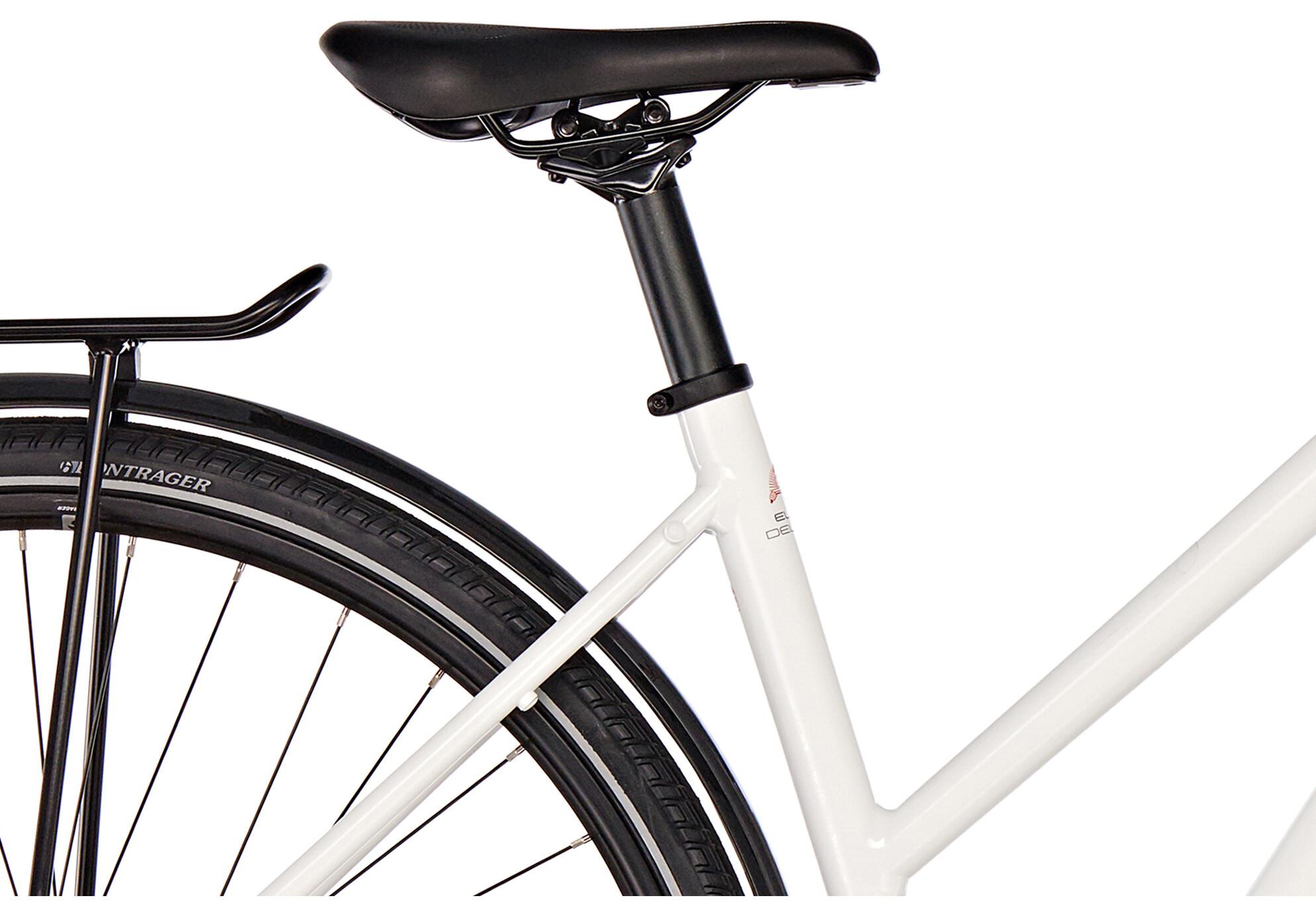 diamant elan deluxe bicicletta da trekking gor bianco su. Black Bedroom Furniture Sets. Home Design Ideas