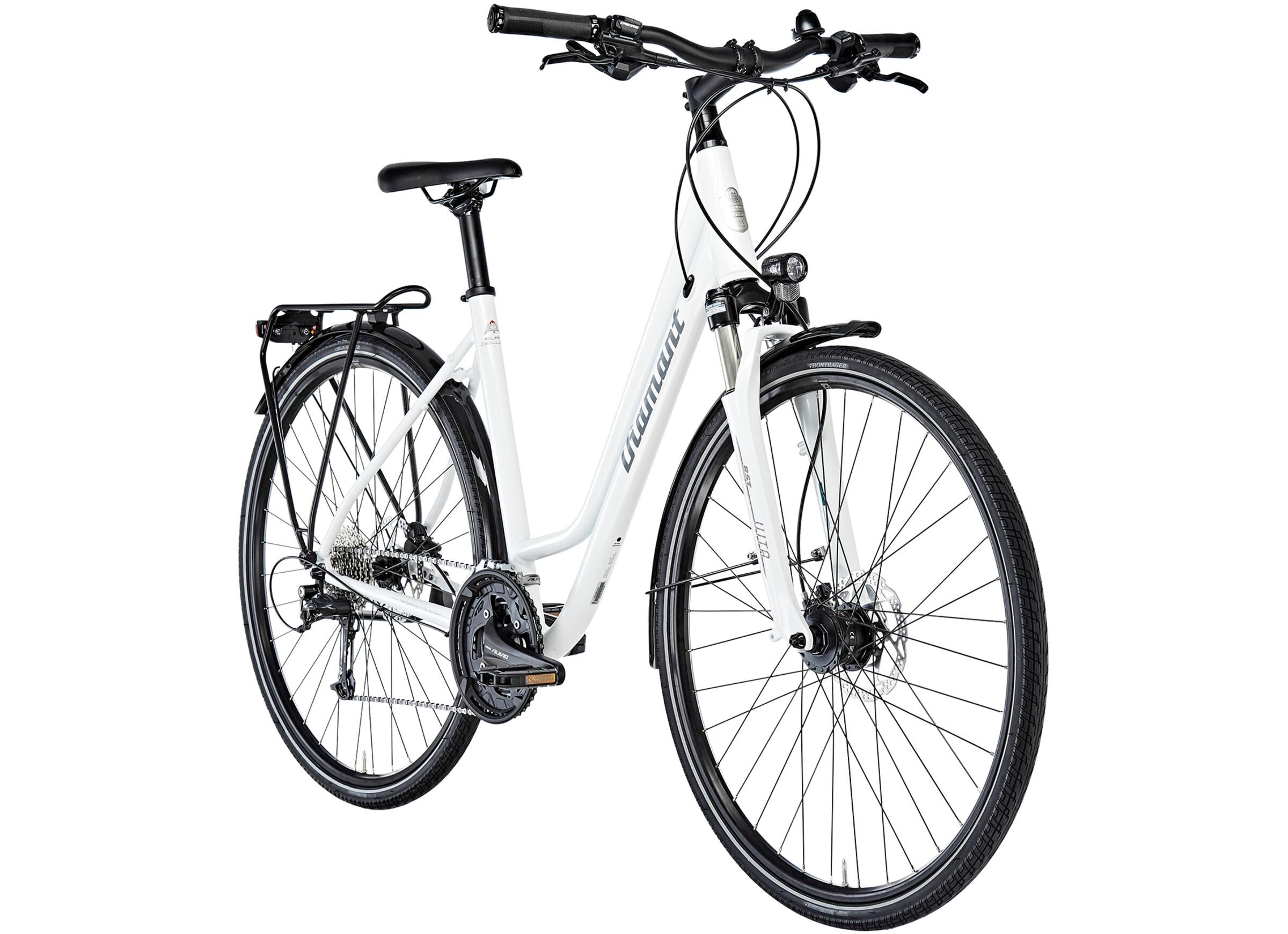 diamant elan deluxe touring bike cradle white at bikester. Black Bedroom Furniture Sets. Home Design Ideas