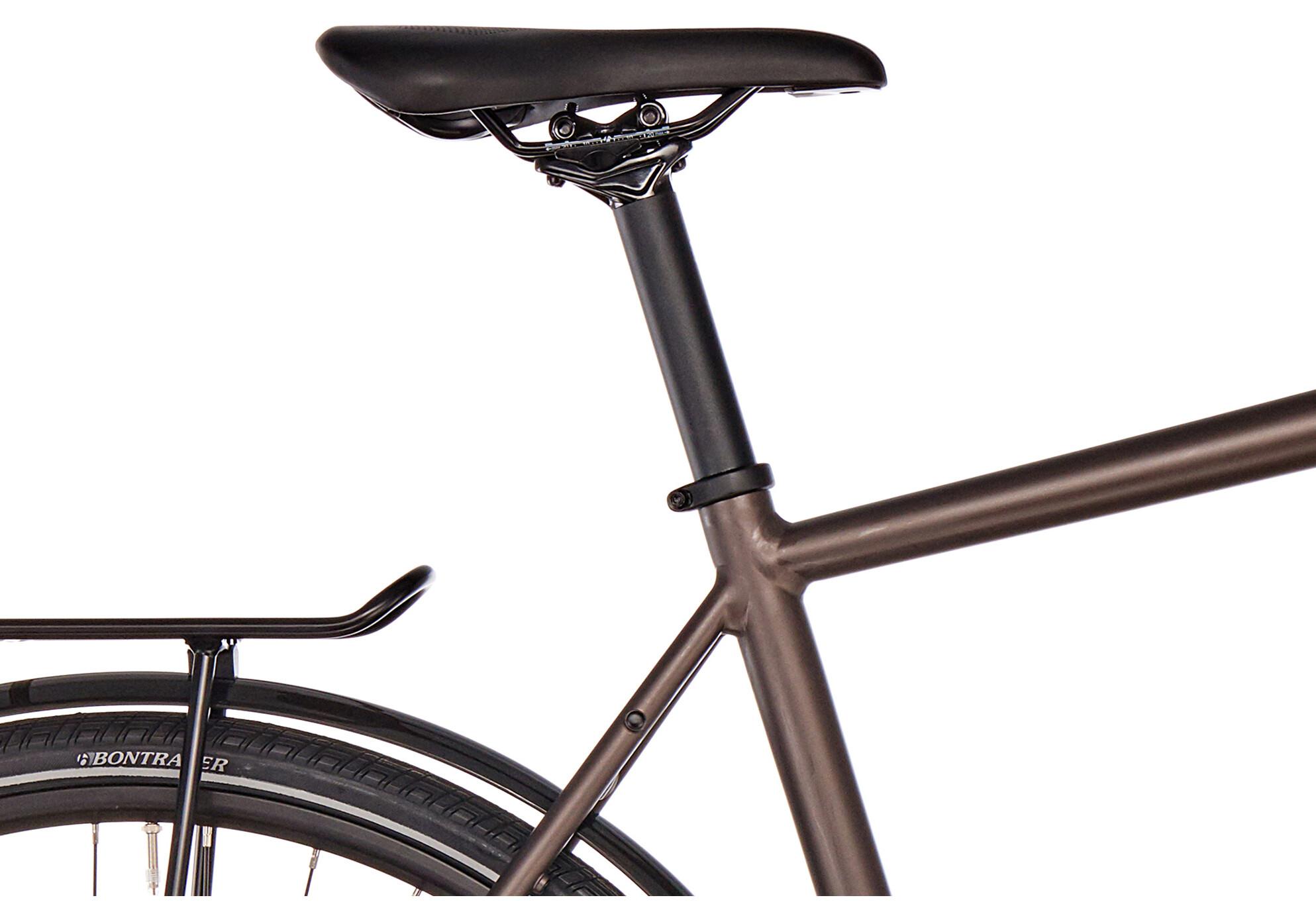 diamant elan deluxe bicicletta da trekking marrone su bikester. Black Bedroom Furniture Sets. Home Design Ideas