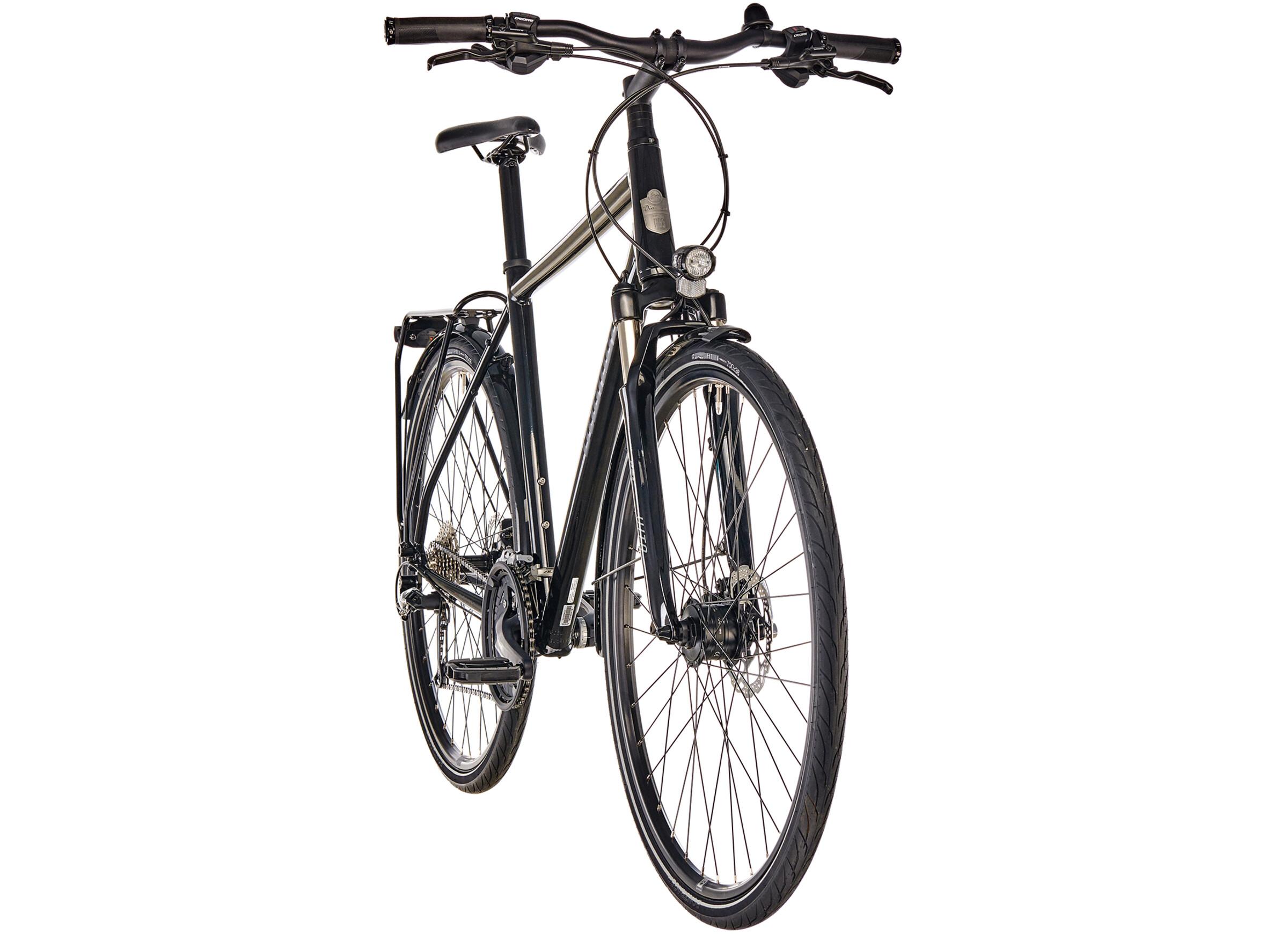 diamant elan sport bicicletta da trekking uomo nero su. Black Bedroom Furniture Sets. Home Design Ideas