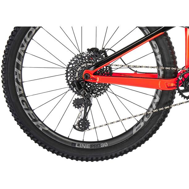 Trek Fuel EX 9.8 radioactive orange/trek black