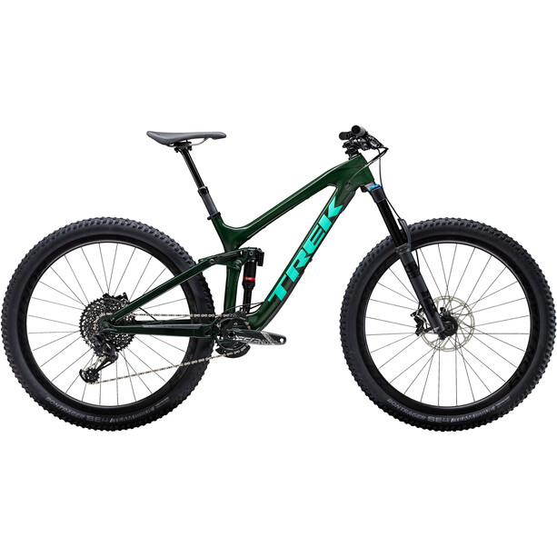 Trek Slash 9.8 british racing green