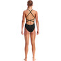 Funkita Strapped In One Piece Swimsuit Girls still black solid