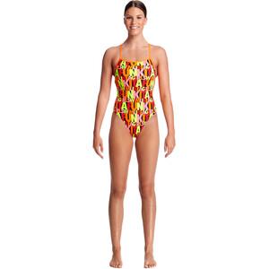 Funkita Strapped In One Piece Badeanzug Damen swim girl swim swim girl swim