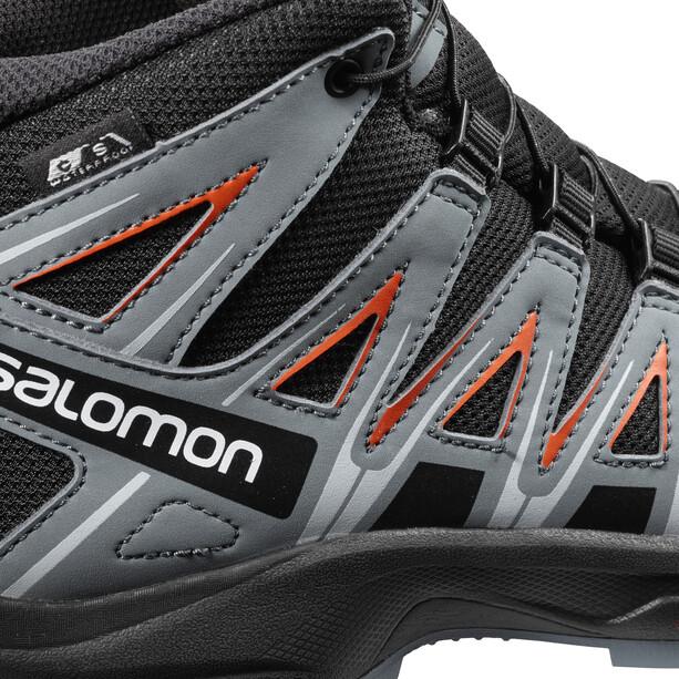 Salomon XA Pro 3D Mid CSWP Schuhe Jugend black/stormy weather/cherry tomato