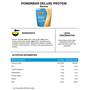 PowerBar Deluxe Protein Beutel 500g Banane