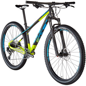 GT Bicycles Zaskar Carbon Pro satin raw/chartreuse/cyan satin raw/chartreuse/cyan